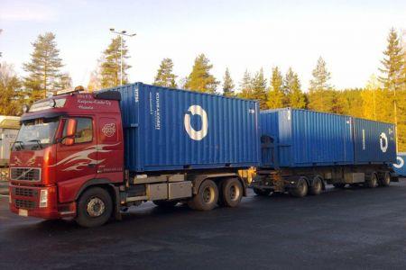 Volvo SER-konteilla