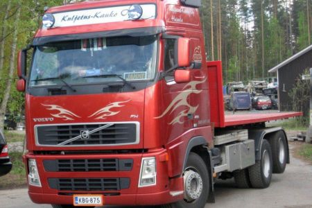 Volvo konelavalla